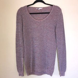 Large Volcom Purple Sweater
